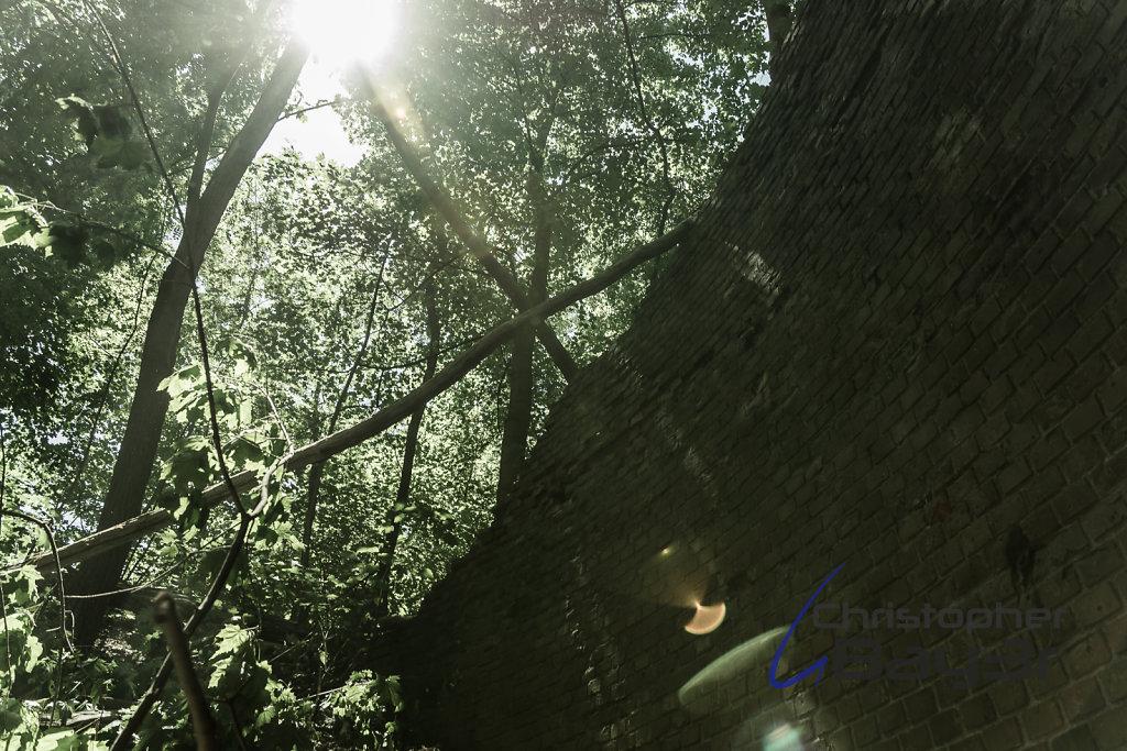 Lens Flare im Fort IX