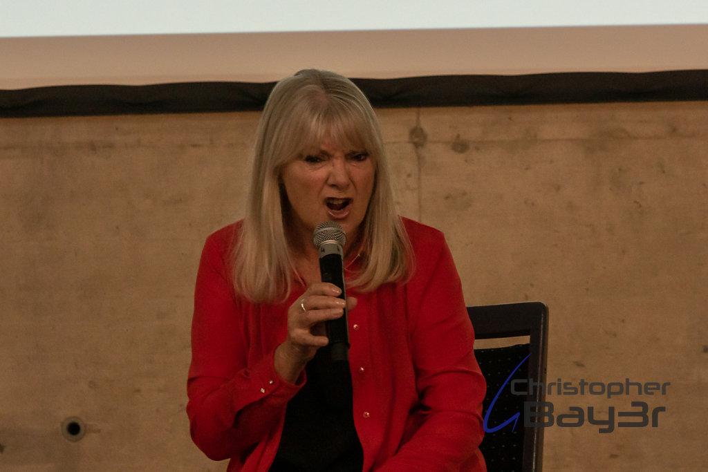Panel mit Anneke Wills